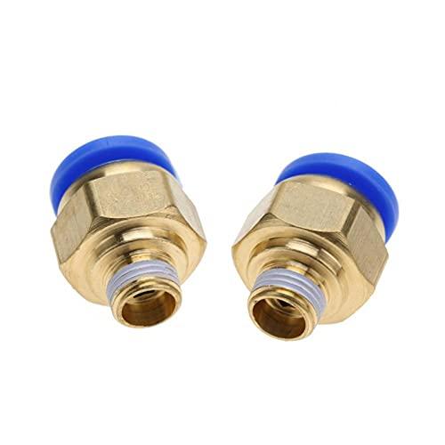 Racores rápidos neumáticos Montaje recto Accesorios rápidos de tubería de aire Accesorios rápidos para tubería (PC14-3 2PC)