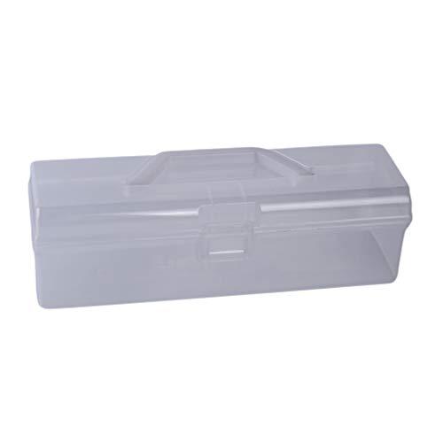 Jixing Geschirr Aufbewahrungsbox mit Top Griff PP Löffel Gabel Essstäbchen Organizer Box für Camping Trip Picknick Büro