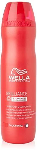Wella Professionals Brilliance unisex, Shampoo für kräftiges, coloriertes Haar, 250 ml, 1er Pack, (1x 1 Stück)