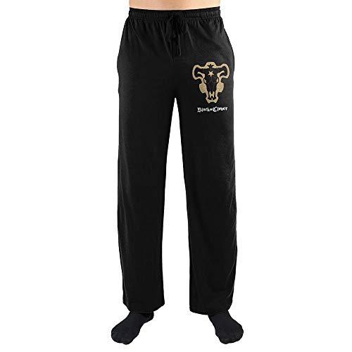 Mens Black Clover Anime Sleep Pants-Small
