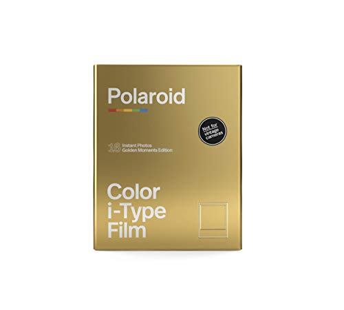 Polaroid - 6034 - Color Film for i-Type - GoldenMoments Edition - Double Pack, Goud