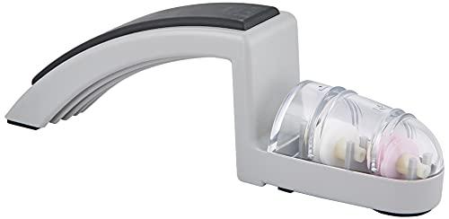 Minosharp - Afilador universal (cerámica), color gris y blanco