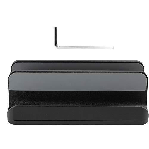 Cocosity Soporte para computadora portátil, Soporte para computadora portátil, Soporte para computadora portátil Negro multifunción Ajustable, para Oficina, Soporte para Tableta Que Ahorra(Black)