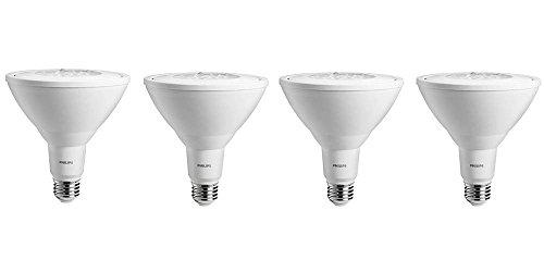 Philips LED Non-Dimmable PAR38 25-Degree Flood Light Bulb: 1000-Lumen, 5000-Kelvin, 11-Watt (90-Watt Equivalent), E26 Base, Daylight, 4-Pack