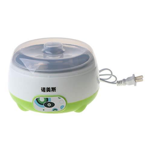 WT-DDJJK Máquina para Hacer Yogurt, 220V 1L Acero Inoxidable Máquina automática para Hacer Yogurt Yogur Dispositivo de Bricolaje Hogar