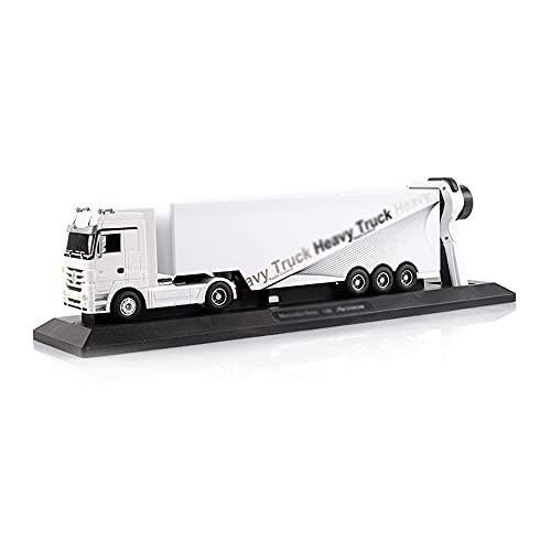 UJIKHSD RC Semi Truck and Trailer Transportador Eléctrico Control Remoto Niños Toy Carrier Van Vehículo De Transporte Listo para Funcionar Semi-Truck Cargo Car Regalo para Niños Niños Niñas