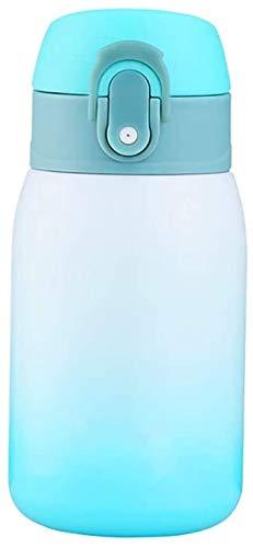 Wasserflasche BPA-freie vakuumisolierte Thermoskanne für 12 Stunden heiße und 24 Stunden kalte Getränke, Sportflasche Ideal für Arbeit, Fitnessstudio, Reisen