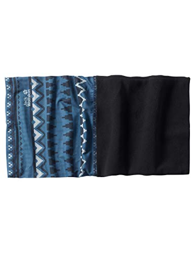 Jack Wolfskin Print Fleece Headgear Unisex-Stirnband, Ocean Wave All Over, ONE Size