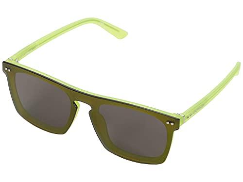 Calvin Klein CK19501S Injected zonnebril Grey Unisex volwassenen meerkleurig, standaard