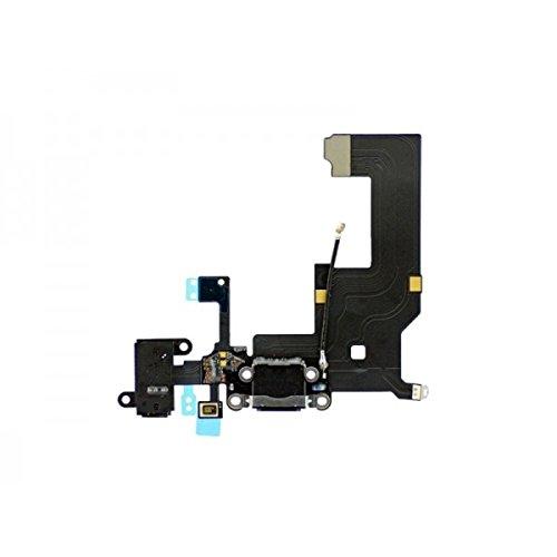 Third Party - Connecteur Alimentation iPhone 5 Noir - 3700936100030