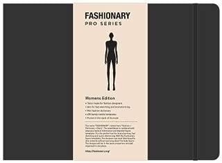 Fashionary Portfolio Womens Sketchbook A4