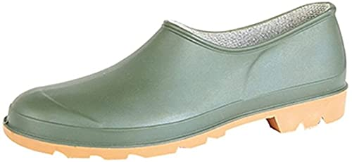 Damskie ogrodowe buty ogrodowe CLOG Wellton rozmiar 3 - 9 wodoodporne, - ZIELONY - 37 EU
