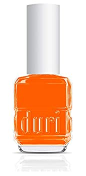 duri Nail Polish 647N The O.C Orange Neon Orange Matte Finish,0.5 Fl Oz