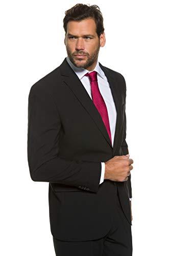JP 1880 Anzug-Jacke, Baukasten-Sakko Zeus, FLEXNAMIC®, Schnurwoll-Qualität schwarz 66 705512 10-66