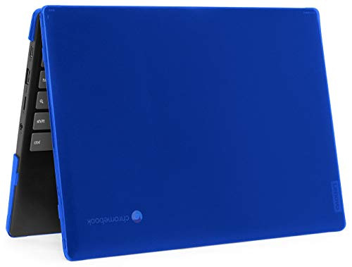 mCover Hard Shell Case for 2020 11.6' Lenovo IdeaPad Chromebook 3i (11) Laptop (Not Fit IdeaPad Flex 3 11.6' Chromebook) Blue