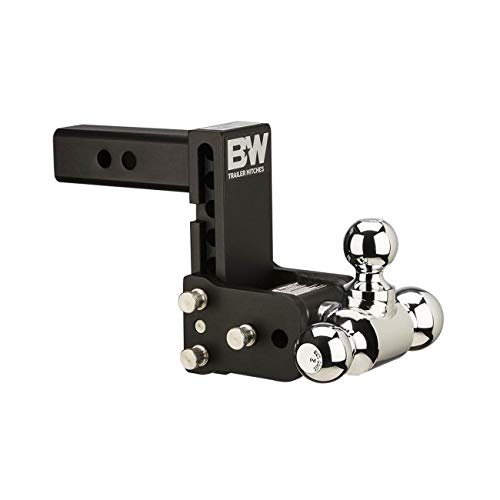 B&W TS10048B Tow and Stow Magnum Receiver Hitch Ball Mount