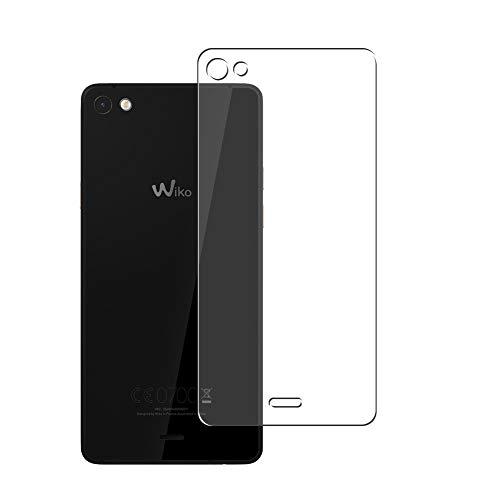 Vaxson 2 Stück Rückseite Schutzfolie, kompatibel mit Wiko Highway Pure 4G 2015, Backcover Skin TPU Folie [nicht Panzerglas/nicht Front Bildschirmschutzfolie]