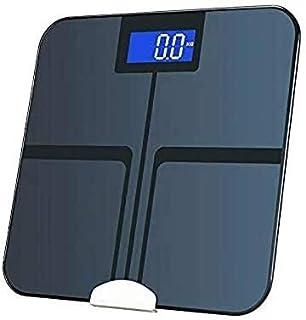 AYCPG Escala Bluetooth, analizador de Grasa Corporal |Báscula de baño Elegante con el |Báscula Digital for el Peso Corporal, índice de Masa Corporal, Agua, Grasa, Masa Muscular hfhdqp