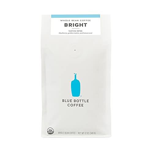Blue Bottle Coffee Home Blend Bright Organic Whole-Bean Coffee, Lighter Roast, 12 oz