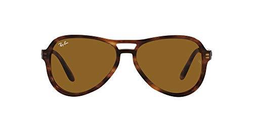 Ray-Ban 0RB4355 Gafas, STRIPED HAVANA, 58 Unisex Adulto