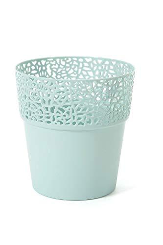 Lamela Übertopf ROSA in versch. Farben und Größen, Farbe:Mint, Größe:14.5 cm