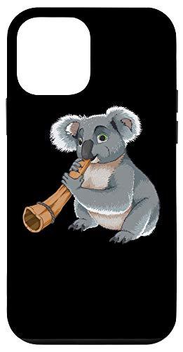 iPhone 12 mini Cool Koala Playing Didgeridoo Gift | Funny Bear Musician Fan Case