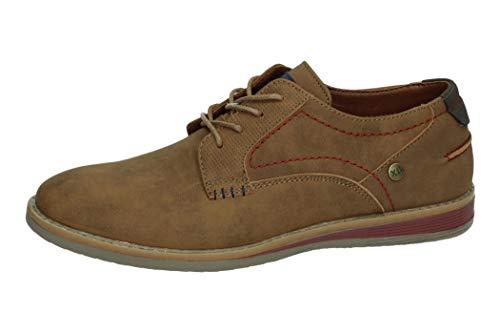 XTI 34343 Zapato Caballero Hombre Zapatos CORDÓN Camel 43