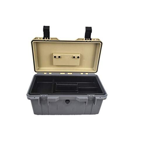 Toolbox Grote Toolbox Kleine Toolboxes Plastic Waterdichte Tool case koffer Hardware Tool Box Seal Box Schokbestendige Case Plastic Thuis Auto Reparatie Toolbox