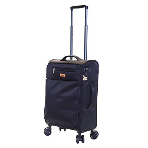 Karabar Cabin Carry-on Hand Luggage Suitcase Bag Ultra Lightweight 55 cm...
