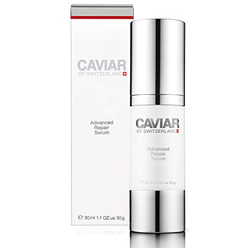 Advanced Repair Serum (30 ml) by Caviar of Switzerland, Anti-aging and Anti-wrinkle Serum, Nourishes and Sooths Skin, Moisturizes and Rejuvenates Skin
