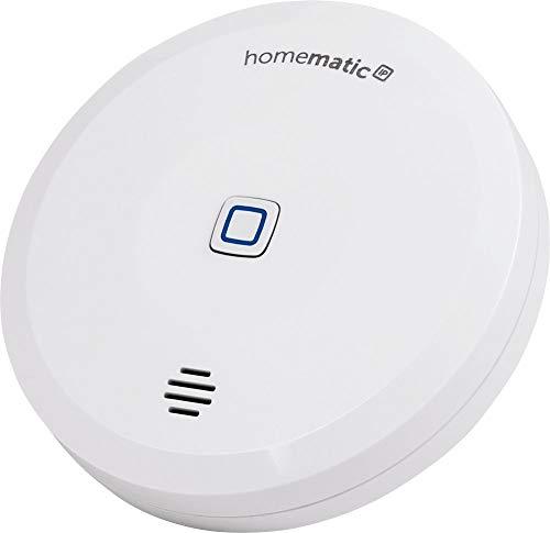 Homematic IP Smart Home Wassersensor, zuverlässige Alarmierung aufs Smartphone bei Feuchtigkeit und Wasser, 151694A0 (Generalüberholt)