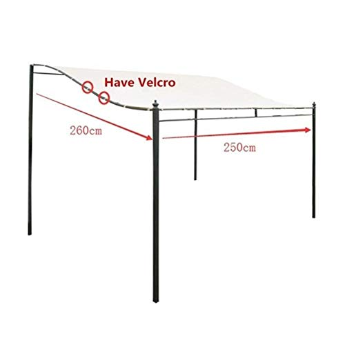 qwrew Waterproof Tent Roof Winds Replacement Canopy Top Cover Garden Outdoor Use Best Service