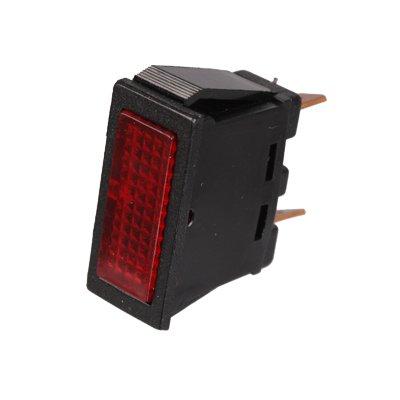 Kontrolleuchte, Kontrolllampe, Warnlampe 12V rot