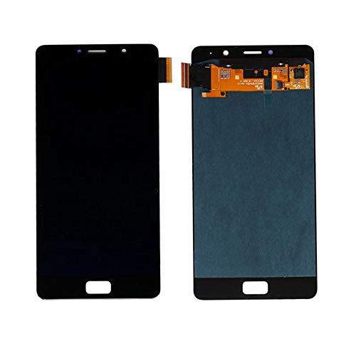 un known Reemplazo extraíble Pantalla táctil LCD de Pantalla for el teléfono móvil del reemplazo Lenovo Asamblea digitalizador P2 (Color : Gold)