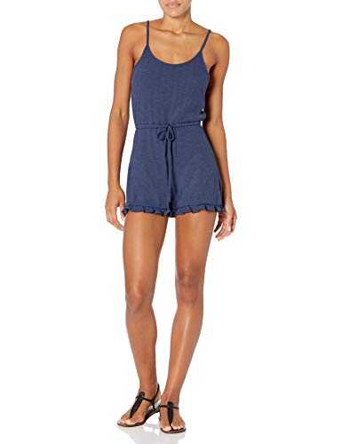 Roxy Damen Summer with Romper Bademode, Cover-Up, Mood Indigo, Large