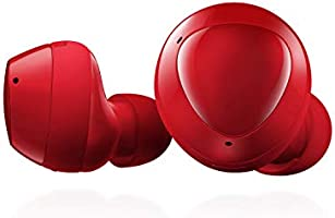 Samsung Galaxy Buds Plus, True Wireless Earbuds (Wireless Charging Case Included), Red – US Version