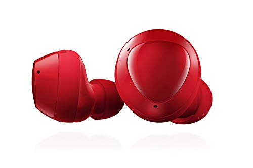 Samsung Galaxy Buds+ Plus, True Wireless Earbuds (Wireless Charging Case included), Red – US Version