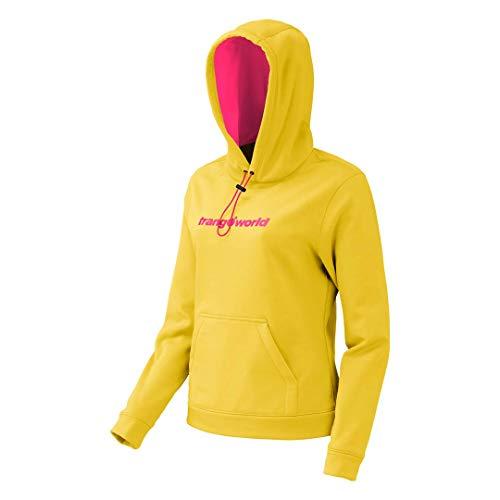 Sudadera amarilla Trangoworld para mujer