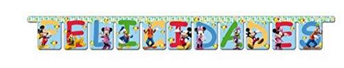 Mickey Mouse - Guirnalda felicidades Clubhouse (Verbetena 014000020)