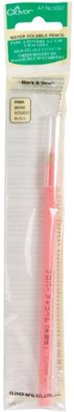 Clover Water Soluable Pencil, Pink