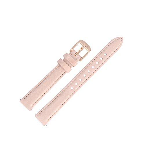 Fossil Uhrenarmband 14mm Leder Pink - ES-3988 | LB-ES3988