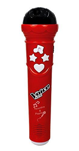 The Voice KIDS 00401 - Mikrofon mit Aufnahmefunktion
