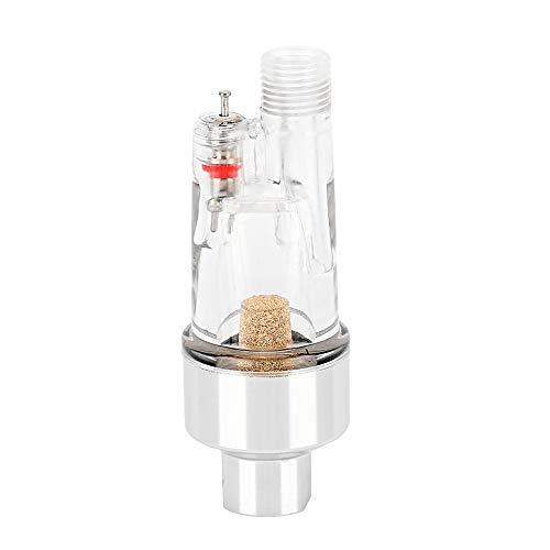 Duokon Waterafscheider, aluminium + ABS mini, waterafscheider, inline luchtslang, filter, vochtafscheider, voor compressor, sproeikleur