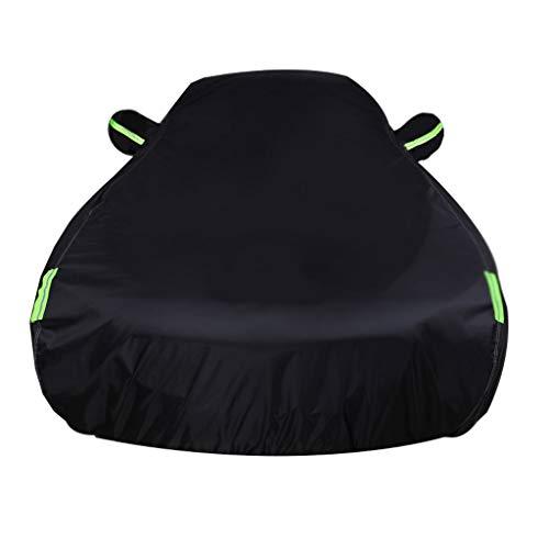 Autoabdeckung Plus Cashmere Car Cover Kompatibel Mit Mazda Mazda3 MPS 6 Miata MX-5 Protege Allwetterwasserdicht Und Langlebig Anti-Kratz (Color : Black, Size : MazdaSpeed6)