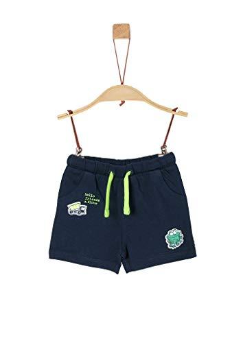 s.Oliver Junior Baby-Jungen 405.10.004.18.183.2038039 Lässige Shorts, 5798 Dark Blue, 92
