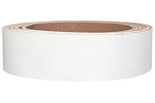 Lederriemen Rindsleder 'Pull Up', in vielen Farben, Gürtelleder, Lederstreifen, Farbe:weiß,...