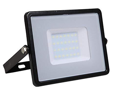 V-TAC LED Flutlicht Samsung Chip, 4000K, 8000lm, IP65, 100 Watt, A+, Kunststoff, W, weiß, 100W
