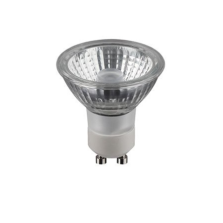 CV-Lighting HALIGHT GLASS 6-W-GU10-LED-lamp, warmwit, dimbaar (dim to warm)