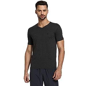 Van Heusen Athleisure Men's Solid Regular Fit T-Shirt 1 31tnkhi orL. SL500 . SS300