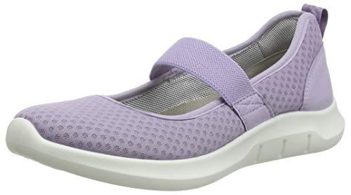 Hotter Flow, Zapatos Planos Mary Jane Mujer, Lavanda
